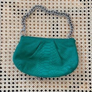 Henri Bendel Leather Wristlet / Evening Bag